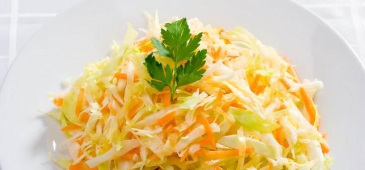 Яблочно-капустный салат