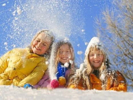 Зимние игры для ребенка