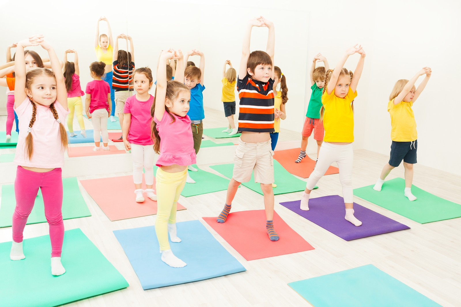 Детская ритмическая гимнастика