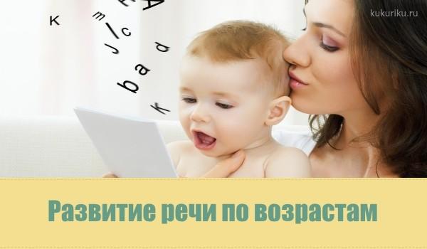 развитие речи по возрастам