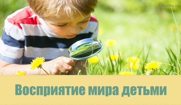 Восприятие мира детьми