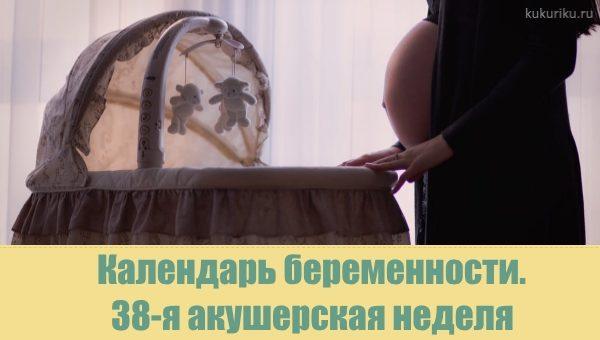 38 акушерская неделя беременности