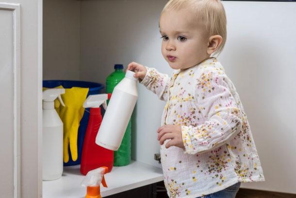 отравление химикатами у детей