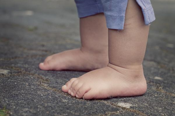 Развитие стоп в раннем детском возрасте